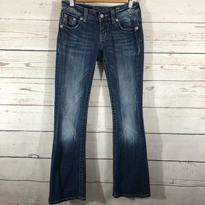 Miss Me Bootcut Sequence Back Jean
